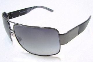 3040 Sunglasses Gunmetal Striped/Grey Shaded 1057/11 Shades Shoes