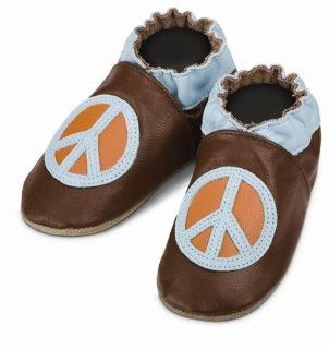 Robeez Peace Soft Sole Baby Shoes 12 18 months    Free
