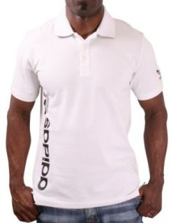 Adidas Mens Polo Shirt Pique Trefoil Clothing