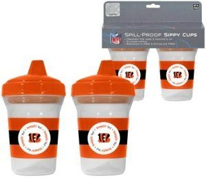 Cincinnati Bengals NFL Baby Sippy Cup   2 Pack Sports