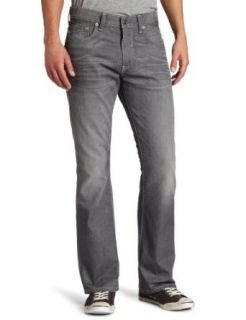 Levis Mens 527 Low Rise Boot Cut Rosas Jean, Crispy Grey