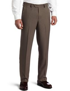 Geoffrey Beene Mens Flat Front Dress Pant Clothing