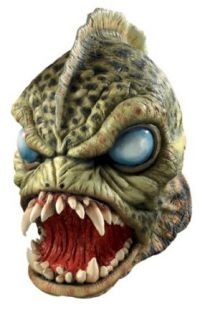 Swamp Monster Halloween Costume Mask Clothing