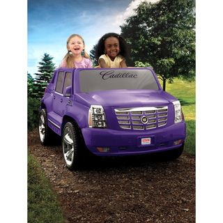 Fisher Price Power Wheels Purple Cadillac Escalade