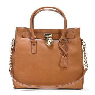 Michael Kors North/South Hamilton Large Leather Tote