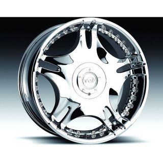 VCT Wheels 20 inch Zamano Rims (Set of 4)