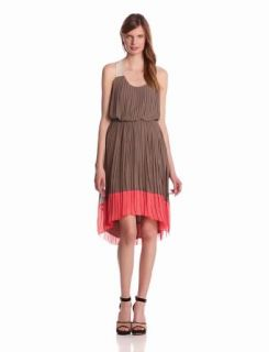 Jessica Simpson Womens Pleated Tank Dress Clothing