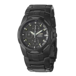 Nixon Mens The Super Rover Black Stainless Steel Quartz Watch