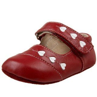 Mary Jane (Infant/Toddler),Red,0 6 Months (US Infant 2 2.5 M) Shoes