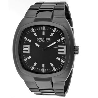 Kenneth Cole Reaction Mens Black Base Metal Watch