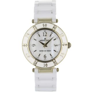 Anne Klein Womens Classic Stainless Steel Watch