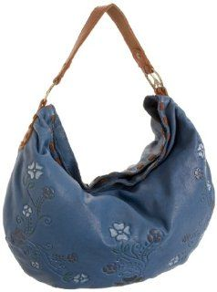 Lucky Brand Brown Sugar Hobo,Blue Horizon,one size Shoes