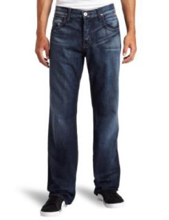 Hudson Mens Wilde 5 Pocket Relax Straight Leg Jean