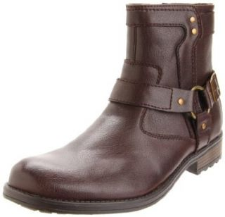 Steve Madden Mens Harland Boot,Dark Brown,7 M US Shoes