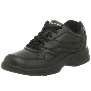 Rockport Mens Barnwell Walking Shoe,Black,7.5 W Shoes