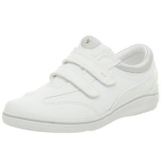 Grasshoppers Womens Stretch Plus Velcro Sneaker Shoes