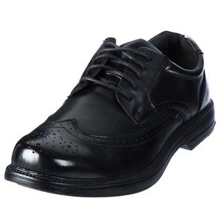 Deer Stags Mens Essex Black Classic Wingtip Oxfords