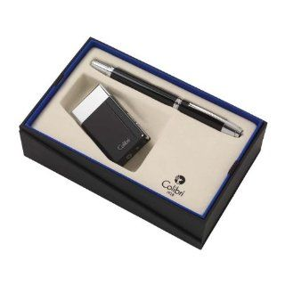 Colibri Aspire Lighter and Cigar Cutter Gift Set Sports