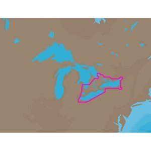 C MAP NT NA C103   Erie, Ontario, & Trent Severn   C Card