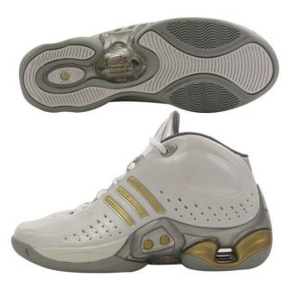 Adidas 1.1 Intelligence Mens White Basketball Shoes