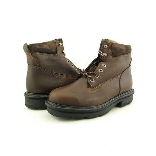 01746 Durashock Fusion Wide Boots Work Shoes Brown Mens Shoes