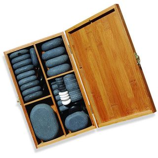 Basalt Lava Hot Stone Massage 64 piece Kit
