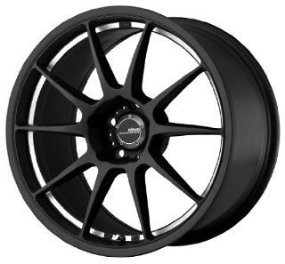 Konig Milligram Matte Black Wheel with Machined Undercut (18x9.5