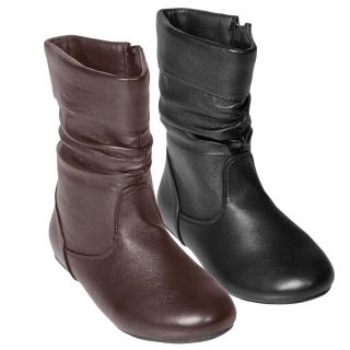 Journee Kids Girls Kgena Slouchy Accent Boots Today $35.99 4.3 (3