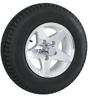 ST145R12  12 inch Star Aluminum Trailer Wheel/Tire Assembly 5 Lug