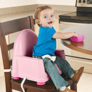 Safety 1st Easy Care Swing Tray Booster Seat in Pink Today $24.49 5.0