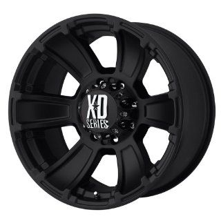XD Series Revolver XD796 Matte Black Wheel (20x9/8x170mm)