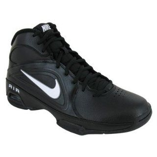VISI PRO III BASKETBALL SHOES 10 (BLACK/WHITE/MTLC DARK GREY) Shoes