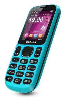BLU T172i Jenny Unlocked Phone   US Warranty   Blue Cell