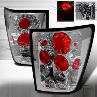 05 06 Jeep Grand Cherokee LED Tail Lights   Chrome