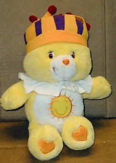 Care Bears; 13 Singing King Funshine Bear; Plush Stuffed