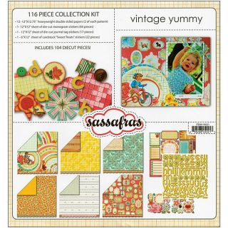 Sassafras Lass Vintage Yummy 116 piece Collection Kit