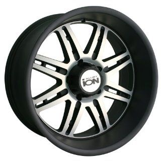 Ion Alloy 183 Matte Black Wheel with Machined Face (20x12/6x139.7mm