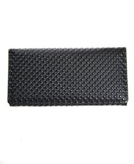 BG Solid Multi Color Purse Wallet, Black Clothing