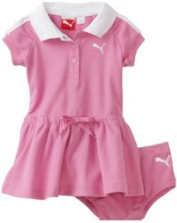 Puma   Kids Baby girls Infant Polo Dress With Diaper Set