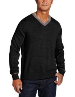 Raffi Linea Uomo Mens Double V Neck Sweater Clothing