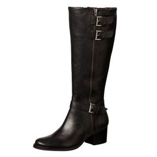 Matisse Womens Rhumba Black Leather Boots