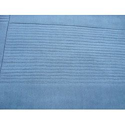 Indo Tufted Light Blue Rug (66 x 9)