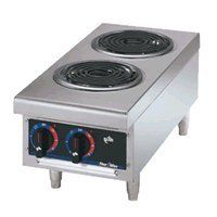 Star Mfg. Star Max Electric Hot Plate w/ Two Coil Burners