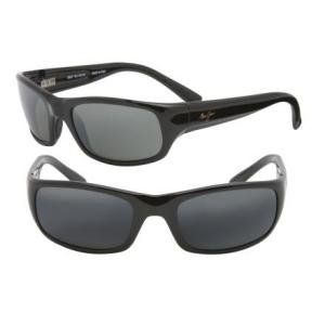 Maui Jim Stingray Sunglasses   Polarized Gloss Black/Gray