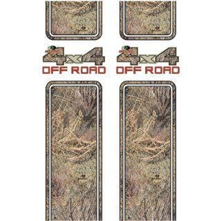 Mossy Oak Graphics 12001 BR Brush 4x4 Off Road Rear Quarter Panel