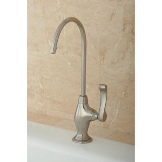 Designer Satin Nickel Single handle Water Filter Faucet