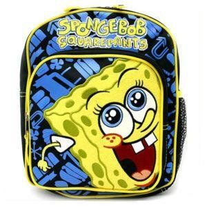 Spongebob Squarepants 10 Mini Toddler Backpack Toys
