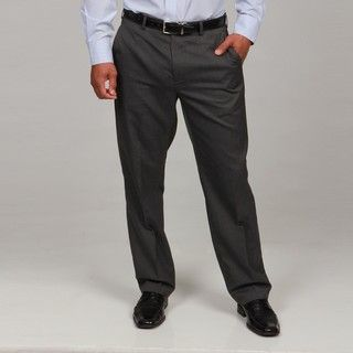 Britches By Samtex Mens Charcoal Stripe Dress Pants